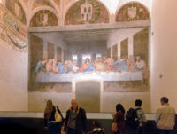 Last Supper Ticket (Wednesdays and Saturdays) - Tourists visit the Last Supper by Leonardo da Vinci in the refectory of the Convent of Santa Maria delle Grazie.JPG
