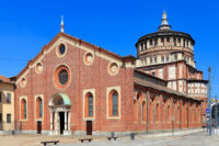 Milan Sightseeing and Last Supper Guided Tour - Santa Maria delle Grazie church with the Last supper fresco by Leonardo da Vinci.JPG