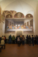 Last Supper Ticket (Wednesdays and Saturdays) - The Last Supper in the refectory of the Convent of Santa Maria delle Grazie. It is a late 15th-century mural painting by Leonardo da Vinci..JPG